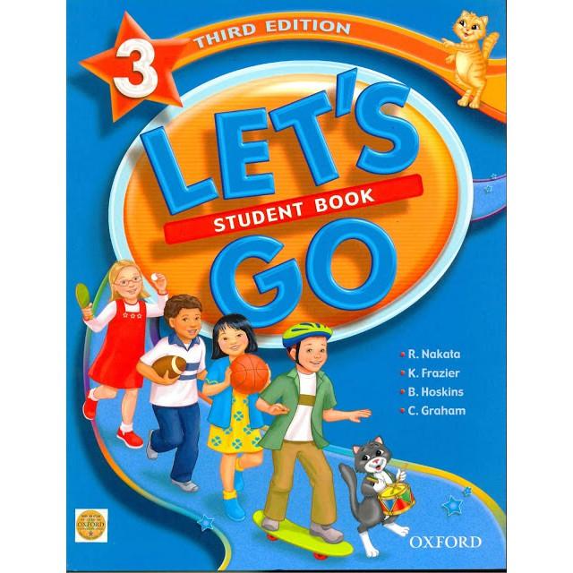 Bộ sách tiếng Anh cho trẻ Let's Go 3 phiên bản third edition