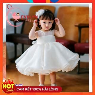 Đầm công chúa 👗 💥 FreeShip + TẶNG KÈM TURBAN 👗 Đầm thời trang Evelyn cho bé Mã VF03 E001 E003