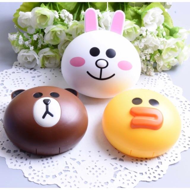 Khay lens Gấu Brown - Thỏ Cony - Vịt