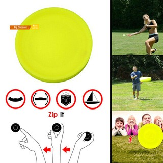 GTDM Outdoor Sports Mini Silicone Flying Disc Throwing Saucer Catching Game Toys