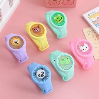 Đồng hồ chống muỗi có đèn LED cho bé