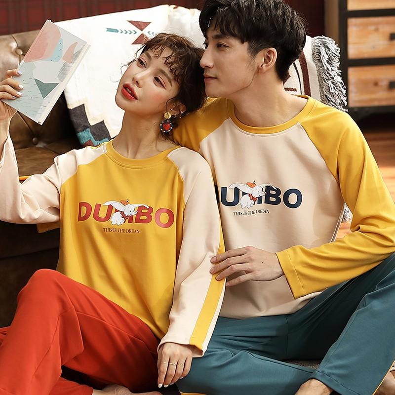 Phiên bản Hàn Quốc của bộ đồ ngủ đôi cotton nữ mùa xuân và mùa thu mùa đông có thể được mặc bên ngoài bộ đồ thể thao nam - 22089124 , 2807722179 , 322_2807722179 , 377300 , Phien-ban-Han-Quoc-cua-bo-do-ngu-doi-cotton-nu-mua-xuan-va-mua-thu-mua-dong-co-the-duoc-mac-ben-ngoai-bo-do-the-thao-nam-322_2807722179 , shopee.vn , Phiên bản Hàn Quốc của bộ đồ ngủ đôi cotton nữ mùa