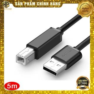 Cáp máy in Ugreen 10329 dài 5m chuẩn USB 2.0 chính hãng - Hapustore thumbnail