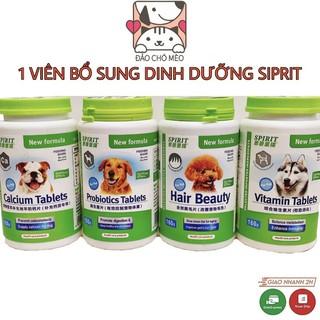 Viên SIPRIT cho mèo bổ sung dinh dưỡng Canxi - Lin Pet thumbnail