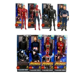 Marvel Avengers 3 Iron Man Spider-Man Black Leopard Captain America Hand Model