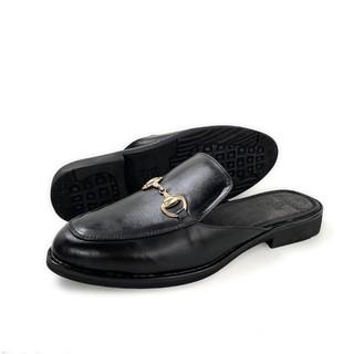 Giày sục nam nữ da bò mules shoe TEFOSS HT751-1 da thật size 35-45