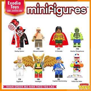 Bộ 8 minifigure nhân vật siêu anh hùng – X0181