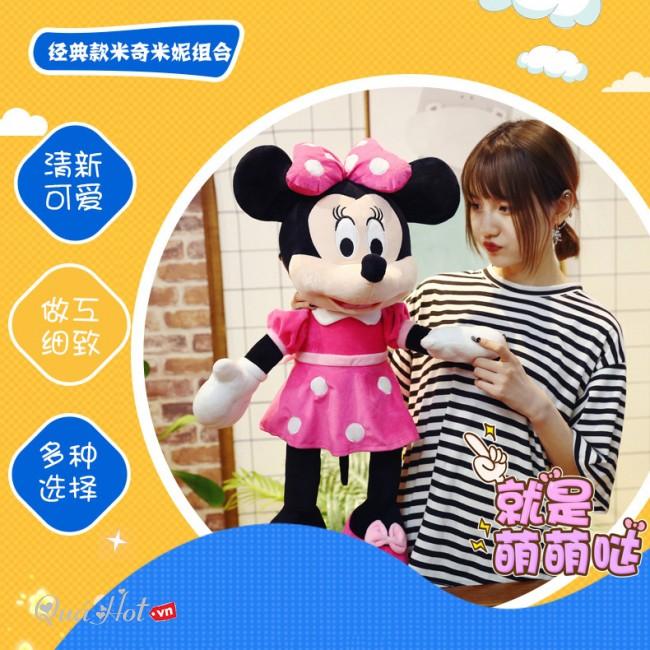 Gấu Bông Chuột Mickey Mouse 100Cm