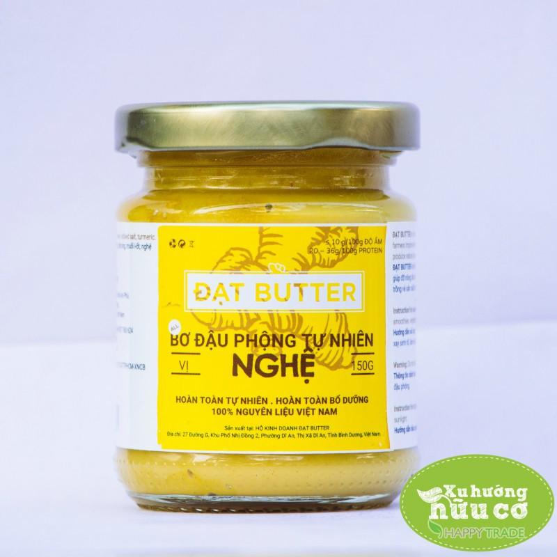 Bơ đậu phộng tự nhiên vị nghệ Đạt Butter (150g) - 9949346 , 1057872988 , 322_1057872988 , 80000 , Bo-dau-phong-tu-nhien-vi-nghe-Dat-Butter-150g-322_1057872988 , shopee.vn , Bơ đậu phộng tự nhiên vị nghệ Đạt Butter (150g)