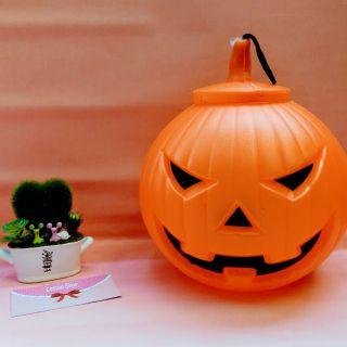 Bí ngô nhựa Halloween. Size đại đk 30cm