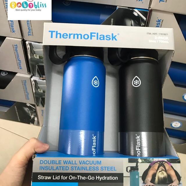 Bình Giữ nhiệt 24 giờ ThermoFlas có ống hút