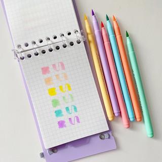 Hình ảnh Set 6 bút đánh dấu Winzige màu sắc ngọt ngào-3