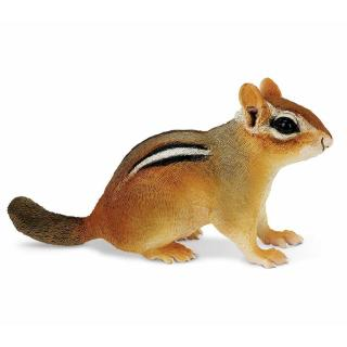 Safari Ltd 263029 Eastern Chipmunk Animal Figure Toy