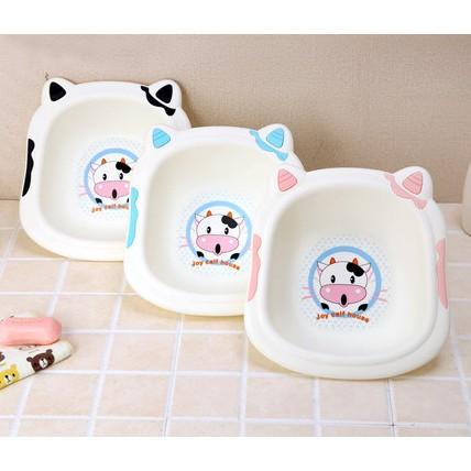Chậu rửa mặt cho bé hình bò sữa - 2701129 , 1148224273 , 322_1148224273 , 65000 , Chau-rua-mat-cho-be-hinh-bo-sua-322_1148224273 , shopee.vn , Chậu rửa mặt cho bé hình bò sữa