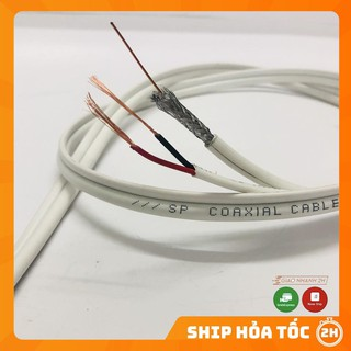Cáp đồng trục liền nguồn SINO/TEASUNG có bọc dầu chống ẩm mã lẻ (1 mét)