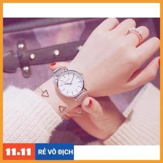 [CHÍNH HÃNG] Đồng hồ nữ Ulzzang dây nhuyễn mềm mỏng nữ tính