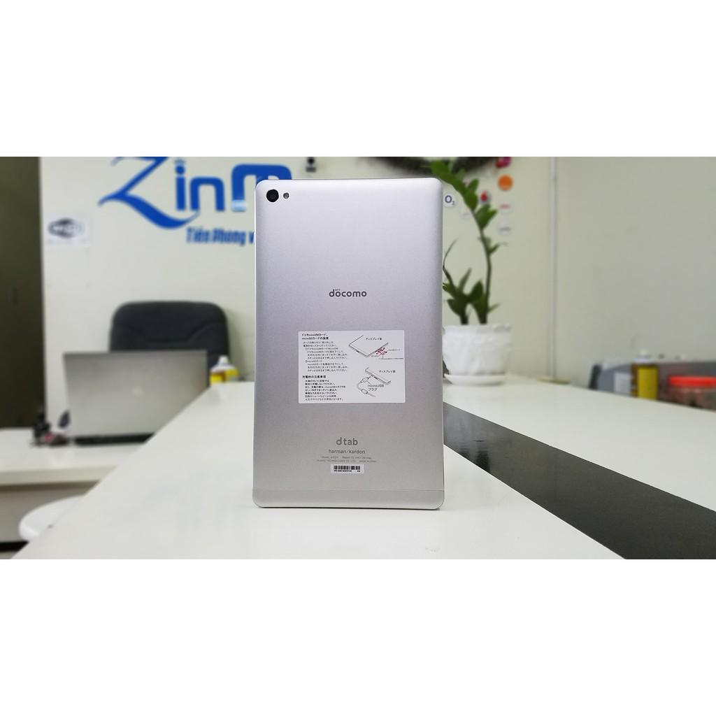 Máy tính bảng Huawei Dtab Compact D 02H- 4G/wifi- Âm Thanh Harman Kardon sống động giá rẻ