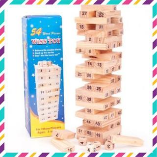 [HOT] Bộ đồ chơi rút gỗ Wiss Toy