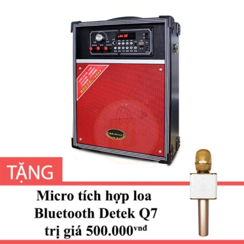 Loa Bluetooth kiểu Vali A092 Detek màu Đen tặng Micro tích hợp loa Q7 - Có 1 mic không dây - 2482243 , 667451981 , 322_667451981 , 1029000 , Loa-Bluetooth-kieu-Vali-A092-Detek-mau-Den-tang-Micro-tich-hop-loa-Q7-Co-1-mic-khong-day-322_667451981 , shopee.vn , Loa Bluetooth kiểu Vali A092 Detek màu Đen tặng Micro tích hợp loa Q7 - Có 1 mic khôn