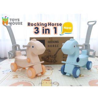 Ngựa bập bênh Toys House 3 in 1