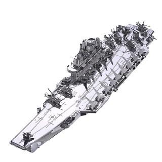 Piececool _ Mô hình lắp ráp 3D kim loại _ Hàng không mẫu hạm CV-16 _ Plan Liaoning CV-16