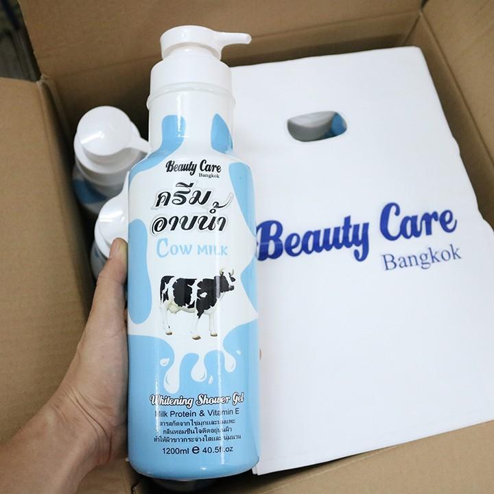 (CHINH HÃNG) Sữa Tắm Beauty Care Thái Lan Chai Khổng Lồ 1200ML