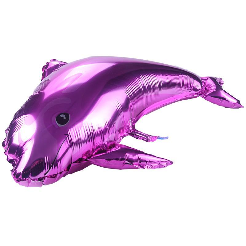 Fashion Dolphin shaped Aluminium foil Balloon