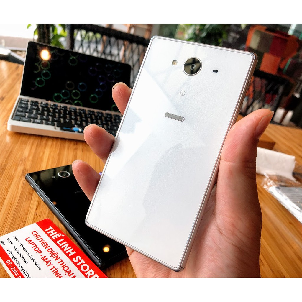 ELMT300K hoàn đến 300k xu] Điện thoại Nhật Sharp Aquos Xx2 502sh Vân