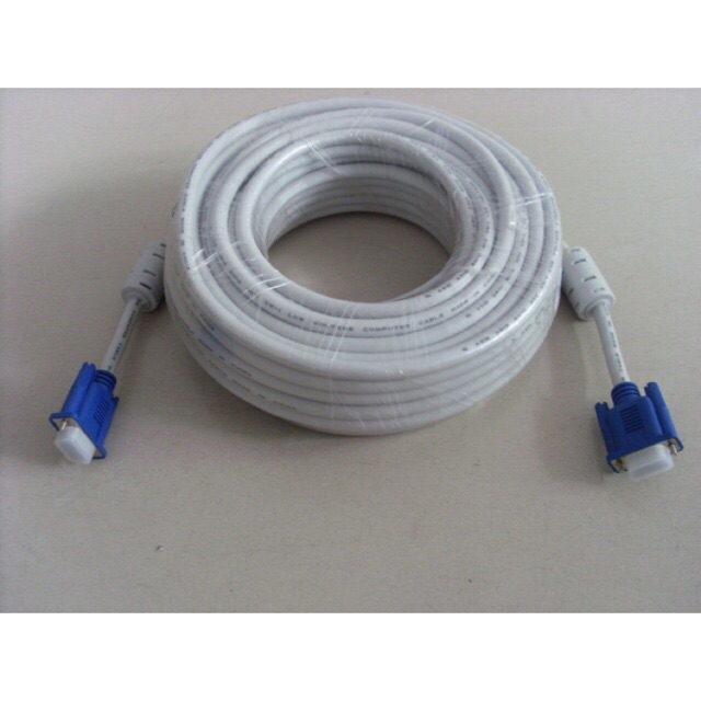 [SALE 10%] Cáp VGA dây trắng 15m, 20m - 2468417 , 1430494 , 322_1430494 , 99000 , SALE-10Phan-Tram-Cap-VGA-day-trang-15m-20m-322_1430494 , shopee.vn , [SALE 10%] Cáp VGA dây trắng 15m, 20m