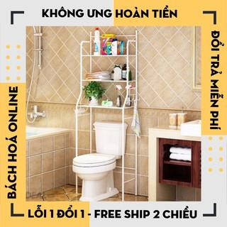 Kệ Toilet 03 Tầng Đa Năng,Kê Bồn Cầu Toilet ,Kệ Nhà Vệ Sinh