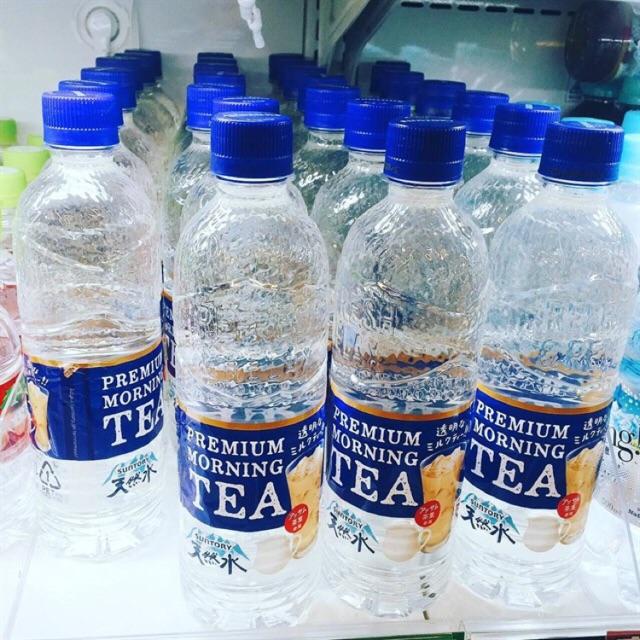 Combo 3 chai nước suối vị trà sữa
