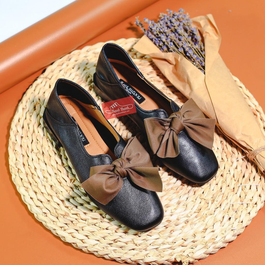 Giày Bệ Nữ Bít Đầu Búp Bê [36 - 39]