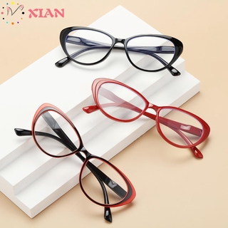 XIANSTORE Fashion Presbyopia Eyeglasses Women & Men Spring Hinge Reading Glasses Ultra-clear Vision Round Floral Frame Anti Glare Vintage Readers Eyewear/Multicolor