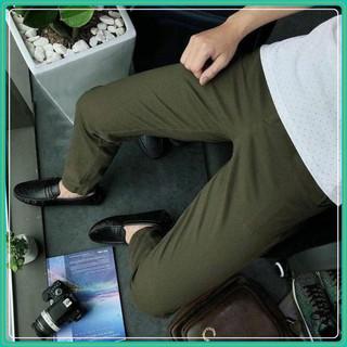 Quần kaki – Quần kaki nam đẹp – Chất liệu kaki mềm mịn, dày dặn, co giãn tốt, mặc cực kỳ thoải mái