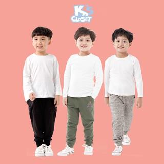 Quần Jogger Cho Bé Trai (1-9 Tuổi) K's Closet E042TEF / E050TEF TM