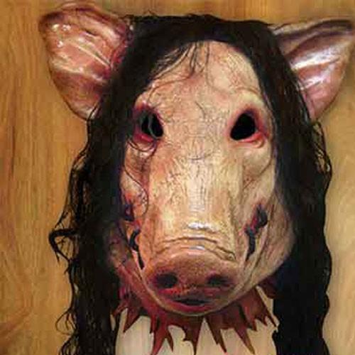 MẶT NẠ CAO SU HEO PIG SAW Ma Quỷ Kinh Dị Halloween