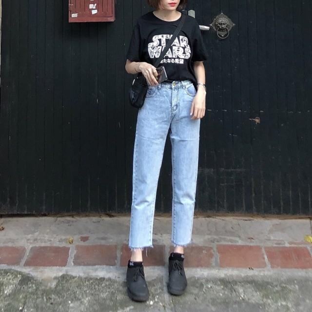 #Q411CS quần Baggy Jeans