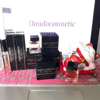 [ mini ] Nước hoa Dolce&Gabbana D&G The Only One EDP 4ml - 7.5ml thumbnail