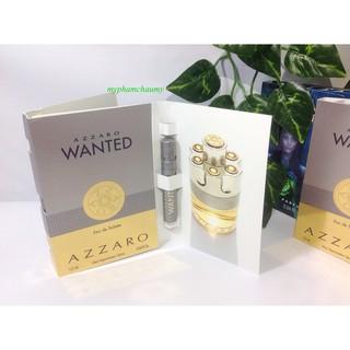 Mẫu thử Nước hoa Vial Nam Wanted Azzaro thumbnail