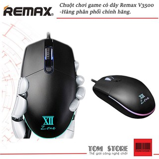 [Mã ELFLASH5 giảm 20K đơn 50K] Chuột chơi game có dây Remax V3500 -Hàng phân phối chính hãng