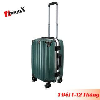 Vali nhựa khung nhôm nắp gập immaX A18 size 20inch xách tay lên máy bay bảo hành 2 năm, 1 đổi 1 trong 12 tháng thumbnail
