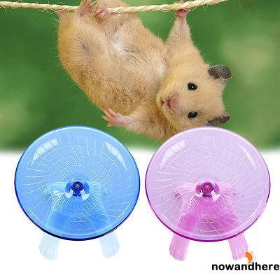 ADN-Running Disc Flying Saucer Exercise Wheel Toy Hamsters Pet sports wheel
