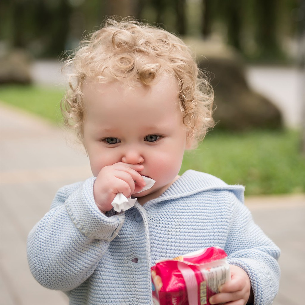 Khăn ướt / giấy ướt cho bé kháng khuẩn cho da Mamamy có nắp không mùi 100 tờ - Combo 12 gói