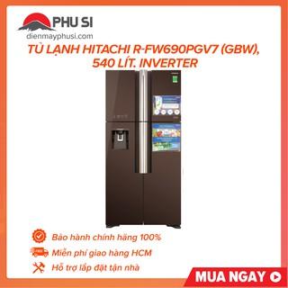[GIAO HCM] Tủ lạnh Hitachi R-FW690PGV7X(GBW), 540 lít, Inverter