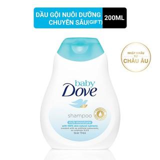 [HC Gift] Dầu gội Baby Dove nuôi dưỡng chuyên sâu 200ml