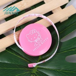 [jennie]Multi-purpose Plastic Automatic Retractable Measuring Tape Sewing Ruler