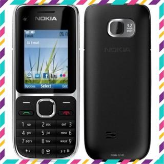 Điện thoại Nokia C2-01 Chính Hãng – BH 12 Tháng – Loa To Nghe Gọi Siêu Rõ – Kèm Pin Sạc