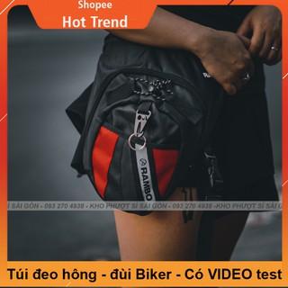KHO SỈ - Túi đeo đùi RAMBO dùng đi tour, phượt tiện dụng - Túi đeo chéo đùi như form Dainese thumbnail