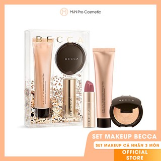 Set Becca Your Glow To Glow Primer Highlighter and Lip Makeup thumbnail