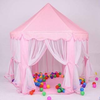 Đồ chơi vận động – Lều lâu đài công chúa hoàng tử hình lục giác siêu xịn, siêu chất cho cả bé trai và bé gái loại to đẹp